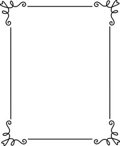simple border clip art spring - Google Search