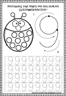 Preschool Number Worksheets, Numbers Preschool, Preschool Learning Activities, Free Printable Worksheets, Worksheets For Kids, Kindergarten Worksheets, Learning Centers, Preschool Activities, Abc Crafts