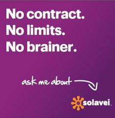 Ask me how you can save on your next mobile phone bill! Need a phone? Have a phone? Keep your number! $49/mo unlimited data,voice & text + the opportunity to make extra income sharing solavei. www.solavei.com/cici72