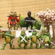 6pcs #keychain teenage mutant ninja turtles #leonardo ninja splinter #keyrings se,  View more on the LINK: 	http://www.zeppy.io/product/gb/2/272316053052/