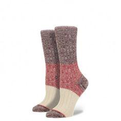 Stance Socks Midboot Winter Camp Wine from 44Bootlegger for $14.00