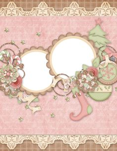 Christmas Tree Clipart, Christmas Frames, Pink Christmas, Christmas Cards, Xmas, Scrapbook Borders, Scrapbook Layout Sketches, Scrapbooking Layouts, Kindle Paperwhite Case
