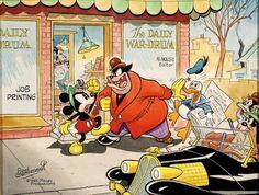Mickey Mouse by Floyd Gottfredson!