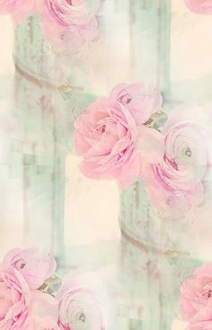 Dreamy pink flowers