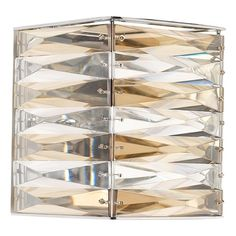 Progress Lighting the Pointe Polished Chrome Sconce | P7134-15 | Destination Lighting