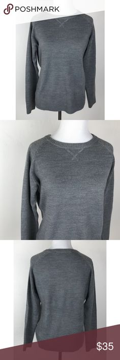 French Connection Grey Pullover Sweater Simple, soft, and cozy! Excellent condition. French Connection Sweaters