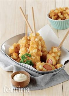 Gamja Tui Gim Femina = sosis dan french fries