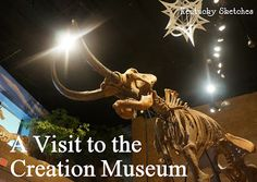 Kentucky Sketches: A Visit to the Creation Museum.  I definitely want to go see this museum!!!!!