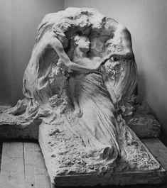 """""""La Resurrezione"""" for the tomb of Hermann Bauer, Genoa, Italy"""