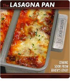 Product Review: Lasagna Edge Pan by Bakers Edge