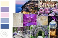 The Inspiration palette that we created for a wedding in the beautiful Positano. We combined the power of spring colours with lace's elegance. Stay tuned 5th April 2014