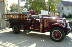 Polo IL Fire Department - 1938 REO vintage fire truck  #Setcom