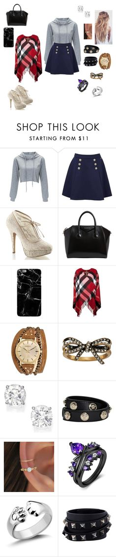 """""""Ally"""" by kacyhitchin ❤ liked on Polyvore featuring Tommy Hilfiger, Pinup Couture, Givenchy, Burberry, Kahuna, Marc Jacobs, Versace and Valentino"""