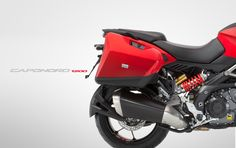 #Aprilia #Caponord 1200 Travel Pack red colour