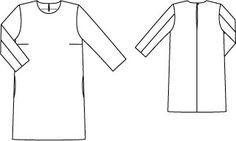 Mini Shift Dress 07/2014 #116 – Sewing Patterns | BurdaStyle.com
