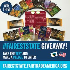 Want to WIN all this chocolate? Enter by taking the Fairest State test and make a pledge! Snack Recipes, Snacks, Fair Trade, Bananas, Pop Tarts, Chocolate, How To Make, Food, Snack Mix Recipes