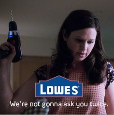 Baby Huck's endorsement deal - lol how fitting since Lowes is Katie's last name
