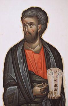 L'image contient peut-être: 1 personne Byzantine Art, Orthodox Christianity, Orthodox Icons, Fresco, Saints, Images, Fictional Characters, Religion, Cut Outs