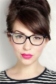 32 Eyeglasses Trends For Women 2019 Glasses Frames Trendy, Eyeglasses Frames For Women, Cute Sunglasses, Sunglasses Women, Vintage Sunglasses, Glasses Trends, Lunette Style, Fashion Eye Glasses, Hair