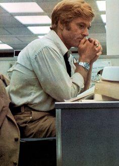 Robert Redford // Bob Woodward  ~ 'All the President's Men' (1976)