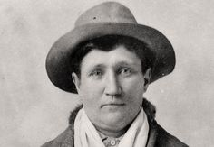 Martha Jane Cannary (Calamity Jane). Often referred herself as Wild Bill Hickok's lover. Buried beside Wild Bill in Deadwood.