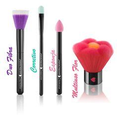 Pincéis da Quem Disse, Berenice! #Makeup #Maquiagem #Beauty