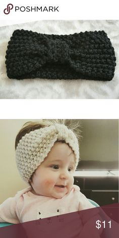 💖HP 11/20💖 NWT Knitted Knot Headband 👉This listing is for ONE headband👈  Kids knot knit headbands. Yes, they will fit teenagers too. They have great stretch!  💰15% off bundles (applied at checkout)💰 📦Same/next day shipping📦 💥Price is firm💥 🚫No trades - holds - off Posh payments🚫 Accessories Hair Accessories