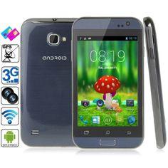 C2 Dark Blue, GPS + AGPS, Android 4.1.2, MTK6572 1.0GHz Dual Core, ROM: 1GB , RAM: 512MB , 4.0 inch Capacitive Screen Smart Phone, Dual SIM , WCDMA & GSM Network