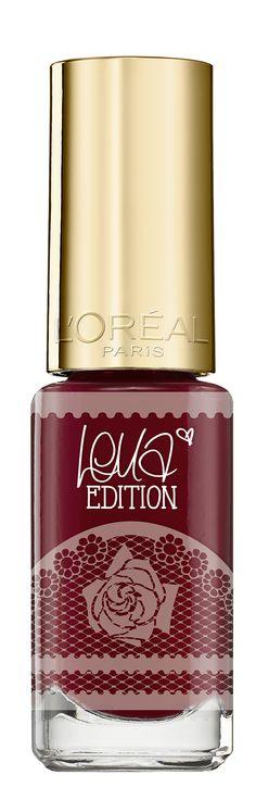 Die Lena Meyer-Landrut Le Vernis - Edition von L'Oréal Paris   http://lounge.loreal-paris.de/