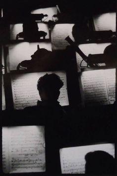 Orchestra Pit, San Francisco Opera House, 1950s by Fred Lyon.