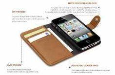 iPhone 4 cover / wallet - perfect solution for the plastic cash era...