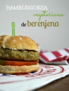 Hamburguesas vegetarianas de berenjena | Cuuking!