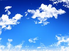 Thoughts are the clouds that float by; the nature of mind is like the pure, endless sky behind.