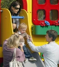 2 August 2007 - Visit to Legoland in Billund With Prince Christian