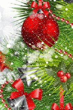 merry christmas happy new year - Christmas Animated Decorations