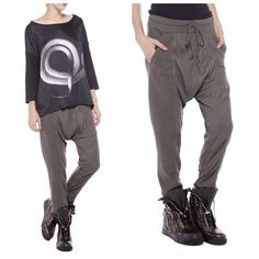 Roque A/W14 slouchy pants - at politixstudio.com + Beverly Center store