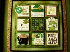 St. Patrick's Day Stampin' Sampler by stitchingandstamping - Cards and Paper Crafts at Splitcoaststampers