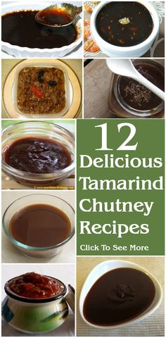 12 Delicious Tamarind Chutney Recipes You Can Try Recipes Veg Recipes, Indian Food Recipes, Cooking Recipes, Indian Chutney Recipes, Cake Recipes, Pesto, Tamarind Recipes, Tamarind Chutney, Tamarind Sauce