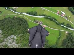 Jeb Corliss wingsuit flying through high mountain waterfall in Switzerland Wingsuit Flying, Where Eagles Dare, Mountain Waterfall, Sup Surf, Base Jumping, Water Photography, Windsurfing, Big Waves, Big Challenge