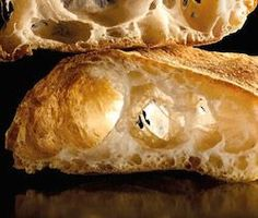Pan de cristal Ciabatta, Spanish Bread, Bread Recipes, Cooking Recipes, The Fresh Loaf, Bread Baking, Food Styling, Delish, Food And Drink