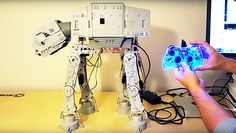 Arduino Blog – Making a Vintage Star Wars AT-AT toy walk with an Arduino