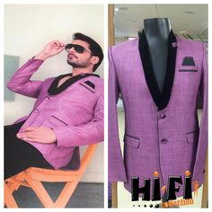 Superb new Pink Tuxedo Blazer to beautify your casual look. #blazers #suit #casual #partytime
