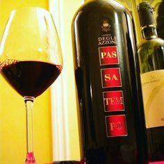 #marche rosso Igt '11 Passatempo, alcool 14,5% #cantina Conti degli Azzoni #montefano #macerata #marche #winelovers Ottenuto da uva #montepulciano fermentato in acciaio, affinato 18 mesi in barrique e...