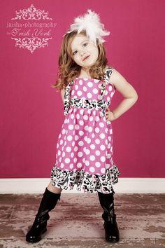 Minnie Mouse knot dress