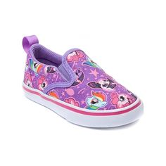 Shop for Toddler My Little Pony Glamour Casual Shoe in Purple at Journeys Kidz. Shop today for the hottest brands in mens shoes and womens shoes at JourneysKidz.com.Easy peasy My Little Pony Glamour slip-on featuring a canvas upper with allover My Little Pony graphics, padded collar, stretchy midfoot goring, and durable rubber traction outsole.
