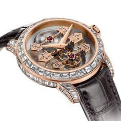 Girard-Perregaux Tourbillon with Three Gold Bridges - men luxury watch