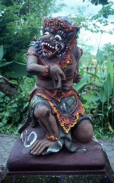 Bali: statue of a Garuda mythical bird