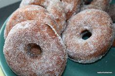 Munkit munaton Doughnut, Desserts, Food, Tailgate Desserts, Deserts, Essen, Postres, Meals, Dessert