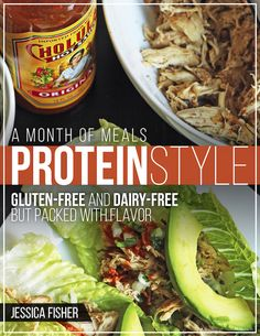 A Month of Meals: Protein Style - Are you looking to eat a little more healthfully now that Christmas is past? Check out the new Month of Meals: Protein Style. Gourmet Recipes, Vegetarian Recipes, Dinner Recipes, Healthy Recipes, Healthy Meals, Paleo Meals, Dinner Healthy, Dessert Recipes, Fast Meals