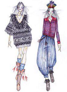 Desenhos e croquis de Moda!   papparaze